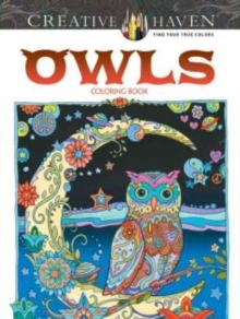 Creative Haven Owls Coloring Book, Paperback