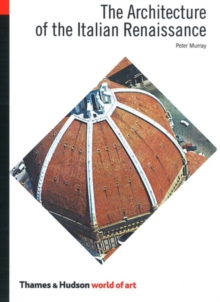The Architecture of the Italian Renaissance, Paperback Book