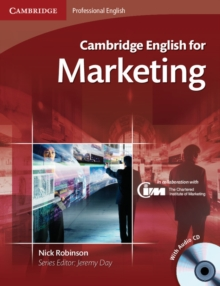 Cambridge English for Marketing Student's Book with Audio CD, Mixed media product