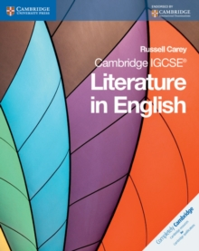 Cambridge IGCSE Literature in English, Paperback