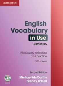 English Vocabulary in Use Elementary with Answers and CD-ROM, Mixed media product Book
