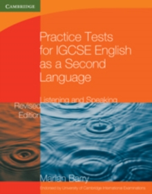 Practice Tests for IGCSE English as a Second Language: Listening and Speaking, Paperback