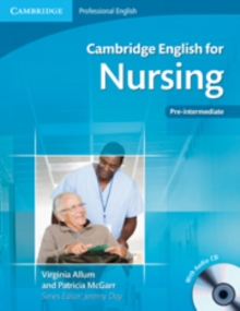 Cambridge English for Nursing Pre-intermediate Student's Book with Audio CD, Mixed media product