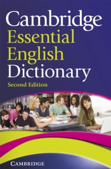 Cambridge Essential English Dictionary, Paperback Book