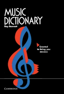 Music Dictionary, Paperback Book