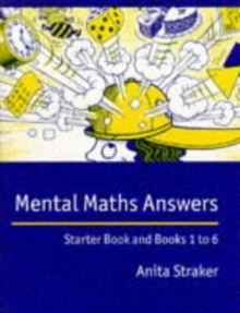 Mental Maths Answer book : Answers, Paperback