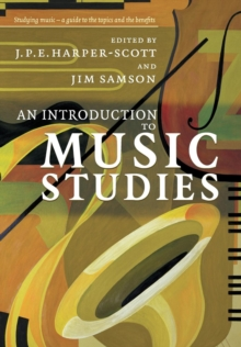 An Introduction to Music Studies, Paperback Book