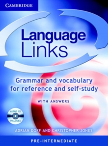 Language Links Pre-intermediate with Answers and Audio CD : Grammar and Vocabulary for Reference and Self-Study, Mixed media product
