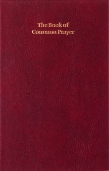 Book of Common Prayer Enlarged Edition 701B Burgundy, Leather / fine binding