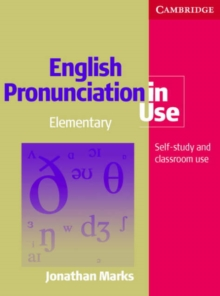 English Pronunciation in Use Elementary Book with Answers, with Audio, Mixed media product