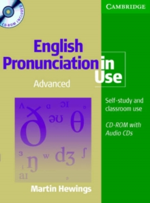 English Pronunciation in Use Advanced Book with Answers, 5 Audio CDs and CD-ROM, Mixed media product