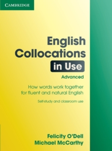 English Collocations in Use: Advanced Edition with Answers, Paperback
