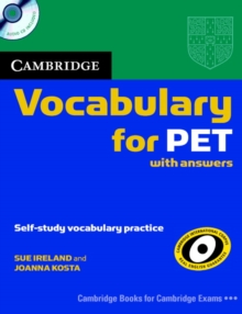 Cambridge Vocabulary for PET Student Book with Answers and Audio CD, Mixed media product