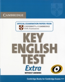 Cambridge Key English Test Extra Student's Book, Paperback
