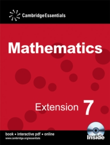 Cambridge Essentials Mathematics Extension 7 Pupil's Book with CD-ROM : No. 7, Mixed media product Book