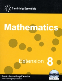 Cambridge Essentials Mathematics Extension 8 Pupil's Book with CD-ROM, Mixed media product Book