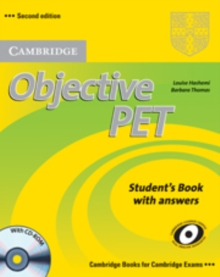 Objective PET Student's Book with Answers with CD-ROM, Mixed media product Book