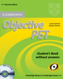 Objective PET Student's Book without Answers with CD-ROM, Mixed media product
