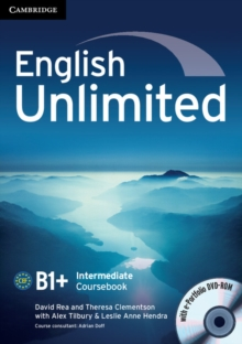 English Unlimited Intermediate Coursebook with E-Portfolio, Mixed media product