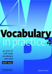 Vocabulary in Practice 4, Paperback Book