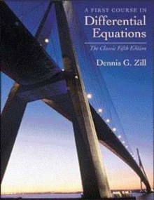 A First Course in Differential Equations : The Classic Fifth Edition, Hardback