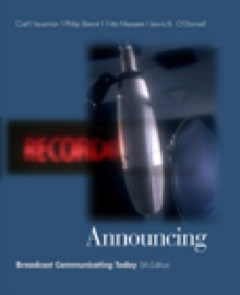 Announcing : Broadcast Communicating Today (with InfoTrac), Hardback Book