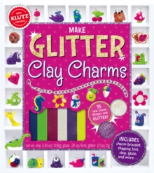 Make Glitter Clay Charms, Mixed media product