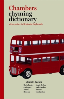 Chambers Rhyming Dictionary, Paperback