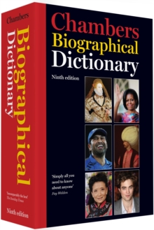 Chambers Biographical Dictionary, Hardback