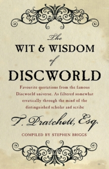 The Wit and Wisdom of Discworld, Paperback
