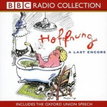 Hoffnung : A Last Encore (includes the Oxford Union Speech), CD-Audio