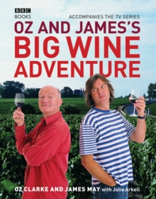 Oz and James's Big Wine Adventure, Hardback Book