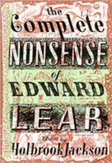 The Complete Nonsense of Edward Lear, Hardback