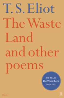 The Waste Land and Other Poems, Paperback Book