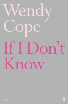 If I Don't Know, Paperback