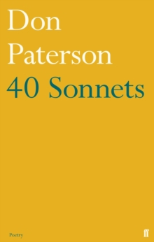 40 Sonnets, Paperback