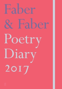 Faber & Faber Poetry Diary 2017 : Coral, Hardback Book