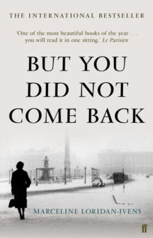 But You Did Not Come Back, Hardback