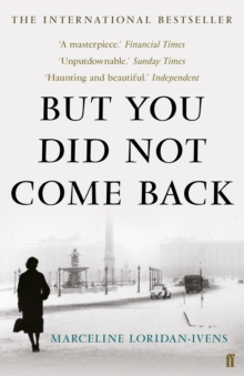 But You Did Not Come Back, Paperback