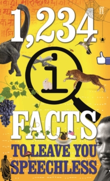 1,234 QI Facts to Leave You Speechless, Paperback Book