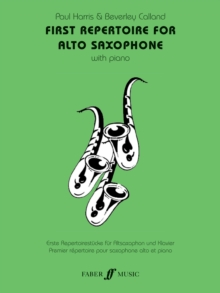 First Repertoire : (Alto Saxophone and Piano), Paperback