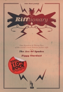 The Rifftionary : (Chord Songbook), Paperback Book