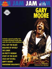 Jam with Gary Moore : (Guitar Tab), Paperback