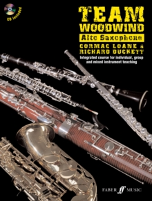 Team Woodwind: Alto Saxophone, Mixed media product Book