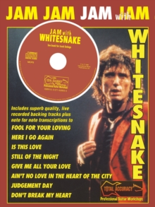 JAM WITH WHITESNAKE, Paperback Book
