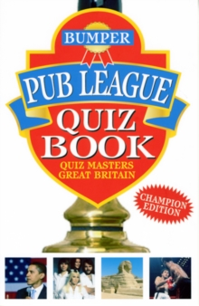 Bumper Pub League Quiz Book, Paperback