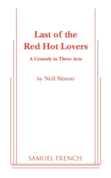 Last of the Red Hot Lovers, Paperback