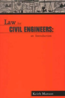 Law for Civil Engineers : An Introduction, Paperback