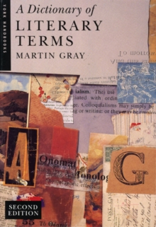 A Dictionary of Literary Terms, Paperback