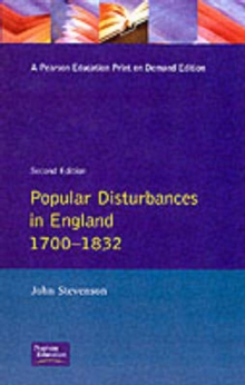 Popular Disturbances in England 1700-1870, Paperback Book